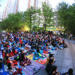 과천 '라면영화제' 시민 참여 성황 '기부 쌀' 등 홀몸노인에  전달