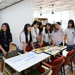 여주교육지원청 카페'미려' 창명여중 미술작품 전시회