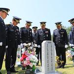 평택해경,  제64회 현충일맞아 5일 순직 경찰관 65명 묘소 참배