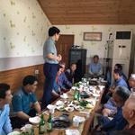 NH농협중앙회 오산시지부,두곡동 경로당 공기청정기 전달 및 어르신 식사대접
