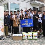 경기 주름잡는 축구선수들 '자원봉사자'로 활약
