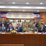 미 제40보병사단 '마이클 리니 작전 부사단장' 포천시 방문