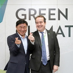 연수구 국제 기후변화 행사 돕기 '한뜻'
