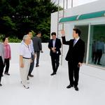 김종천 과천시장, 폭염대비 무더위 쉼터 점검