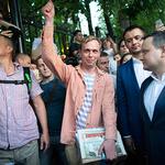 '마약거래' 혐의 벗고 석방된 러시아 탐사기자 골루노프