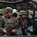 남부 국경지대 도착한 멕시코 군병력
