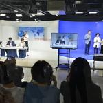 인천시청자미디어센터, 방송체험 진행 자유총연맹 간부·직원 등 90여 명 초청
