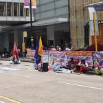 홍콩 시위 , 무역전쟁 등 맞물려 , 연령층 확대