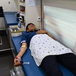 가평서 주차장서 경찰관·의경 사랑의 헌혈운동