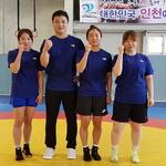 태극마크 달고… '체전 메달' 잡고 인천환경공단 여자레슬링 부푼 꿈