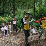 의왕시 바라산 숲체험원서 300여명 참여  유아 숲 잔치
