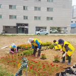 안성시 안성2동 지역사회보장협의체,상습 쓰레기 무단 투기 지역 '사랑의 꽃밭 조성사업' 추진