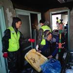 인천시 미추홀구 도화2·3동 지역사회보장협의체,화재피해가구 집수리 봉사 실시