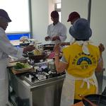 양평 청운면 행복돌봄단, 노인 16명대상  요리교실 개강