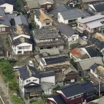 강진에 파손된 日 야마가타 주택들