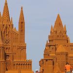 벨기에 오스텐트의 '모래성'
