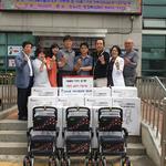 인천 만수3동 지역사회보장협 노인들에게 실버카 지원