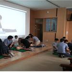 수원 광교호수초교 '학교로 찾아오는 학생대상 심폐소생술 교육' 실시