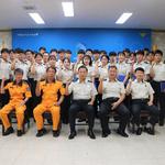 수원소방서, 15주의 현장교육 수료 소방대원 32명에 임용장 수여식
