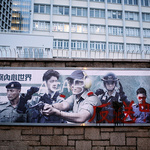 홍콩서 15시간 경찰청 포위시위 종료