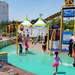 화성도시공사,관내 공원 설치된 어린이 물놀이장 사전 운영