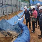 의정부시, 장마철 대비 정비사업 내 건설현장 풍수해 대비 안전점검