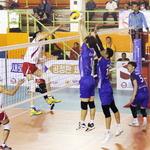 자카르타에서 남북 남자배구 열전