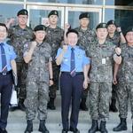 인천해경, 해양사고 예방한 육군 6617부대원들 표창