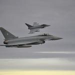 獨 유로파이터 전투기 2대 충돌 후 추락