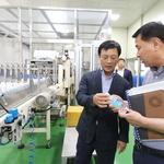 이강호 구청장, 남동·수산정수사업소 찾아 수질관리 방안 의견 논의