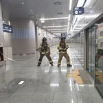 화성소방서 'SRT 동탄역사'서 신속한 화재진압  등 현장적응 훈련