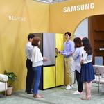수원 홈·테이블데코페어 선보인 삼성 맞춤 냉장고
