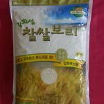 '강화섬 찰쌀보리' 출하 구수한 맛에 영양 만점