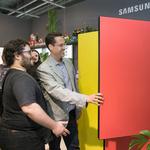 삼성 냉장고 '비스포크'  세상에서 아름다운 냉장고 호평