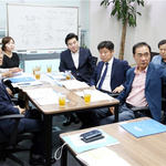 원유철· 유의동 의원-정장선 시장, 평택항 개발 '해수부 종합계획' 포함 건의