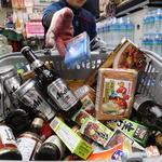 진열대에서 빠지는 일본 제품들