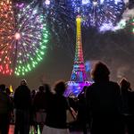 프랑스 혁명기념일 불꽃놀이