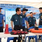 인천경찰청장, 을왕리 찾아 치안 점검