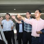 평택시, 고덕국제화계획지구 하천시설 현장점검