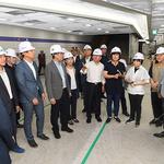 민주당 하남지역위, 지하철 5호선 연장 1단계 구간 현장서 당정협의회