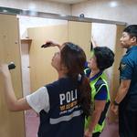 안양동안경찰서, 대림대 여자화장실 등 불법 촬영 취약지 점검