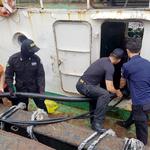인천해경 정기계류 선박 43척에서 폐수 15 KL수거