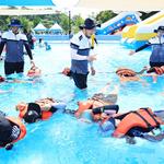 평택해경,  7개 지역아동센터  120여명에 생존 수영교육