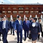 인천 찾은 우즈베키스탄 국회 상원의장
