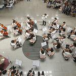 의왕 꿈누리청소년오케스트라, '찾아가는 음악회'로 시민 만남