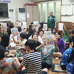 부천시 봉사센터, 청소년 참여 경로당 4곳서 봉사 활동