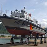 해경 서해5도 해역에 투입될 특수기동정 2척 통합 진수