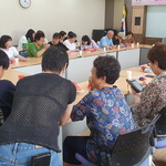 옥련1동,카카오톡 보내기 등 '노인 휴대전화 교육'