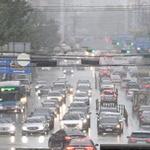 비가 내리고 음악이 흐르면… 운전자는 전조등을 켭니다