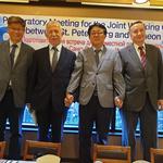 인천시와 상트페테르부르크시 실질적인 협력 강화 위한 실무협의체 구성